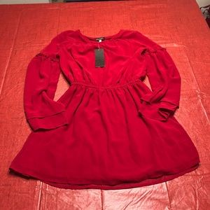 Ella Moss NWT Red Tunic Top